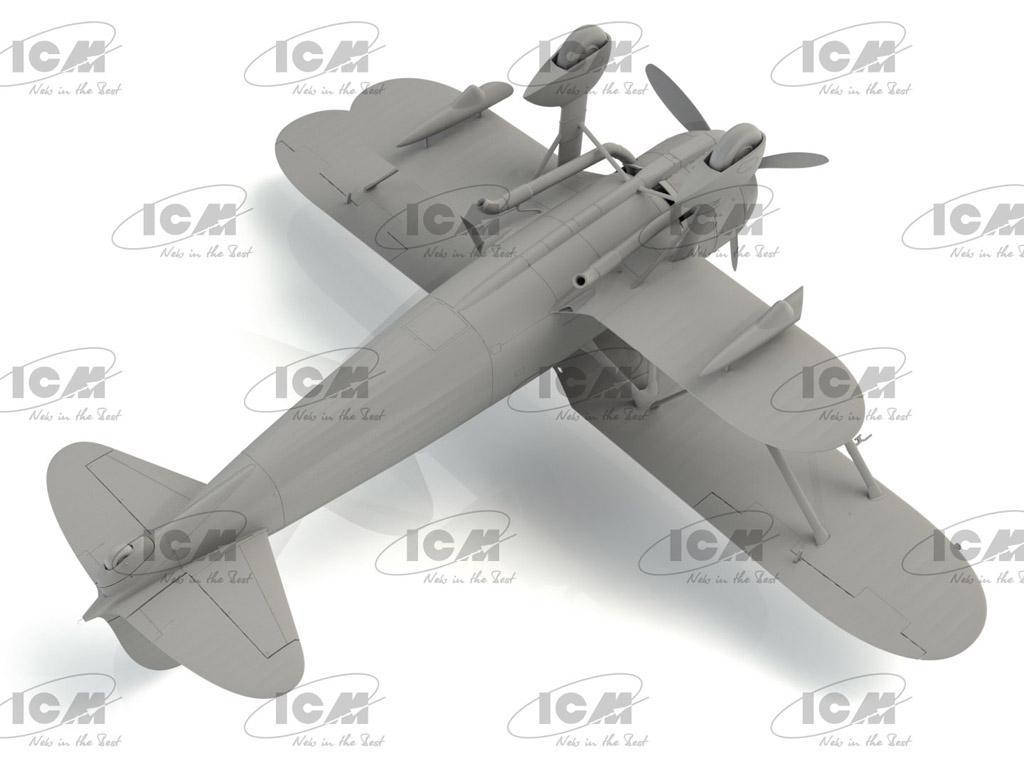 CR.42CN, WWII Italian Night Fighter (Vista 2)