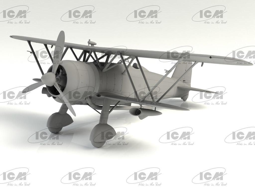 CR.42CN, WWII Italian Night Fighter (Vista 3)