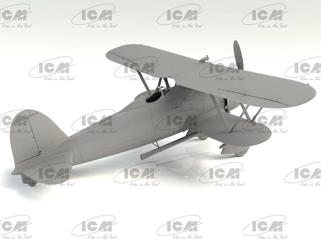 CR.42CN, WWII Italian Night Fighter (Vista 5)