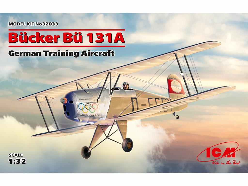 Bucker Bu 131A, German Training Aircraft (Vista 1)