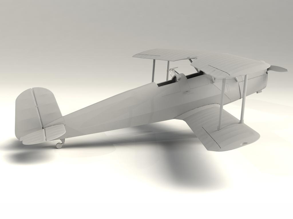 Bucker Bu 131A, German Training Aircraft (Vista 4)