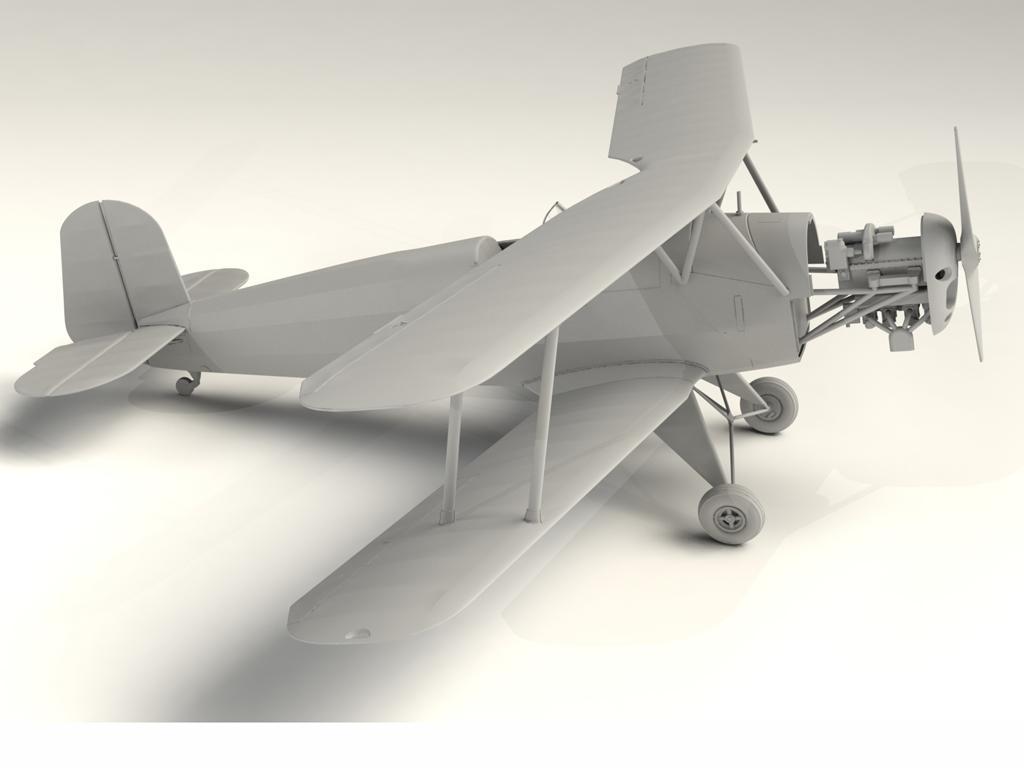Bucker Bu 131A, German Training Aircraft (Vista 5)