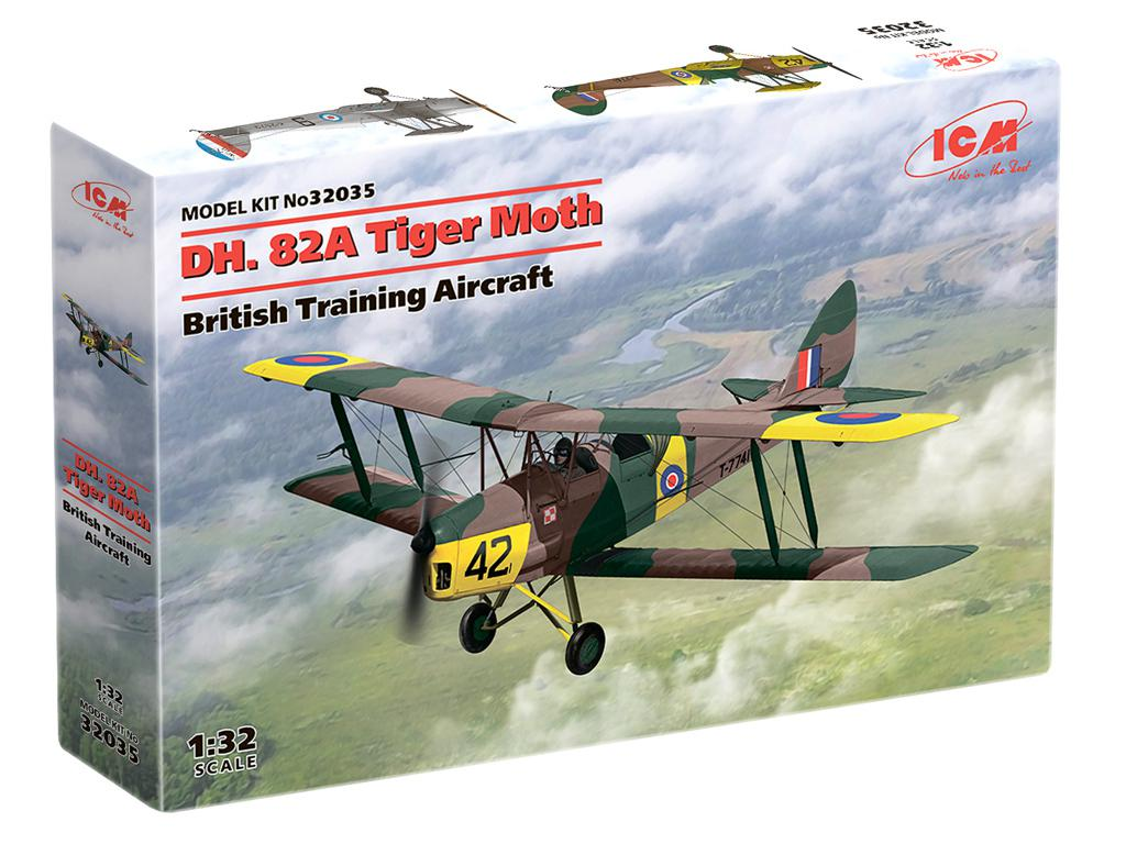 D.H. 82A Tiger Moth, British Training Aircraft (Vista 1)