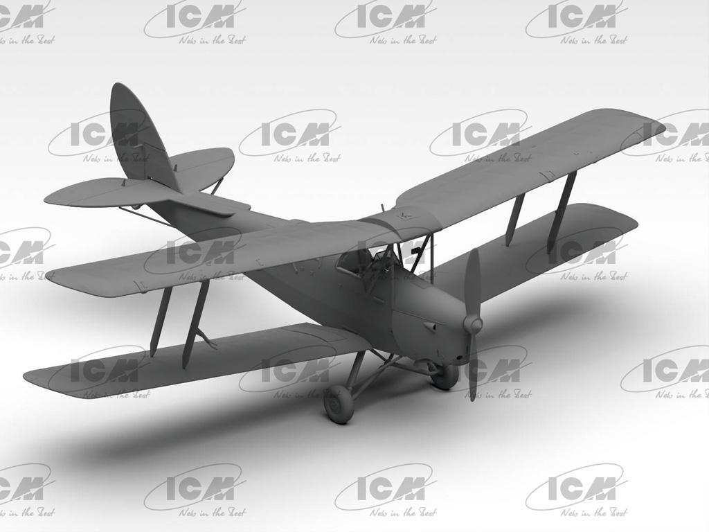 D.H. 82A Tiger Moth, British Training Aircraft (Vista 3)