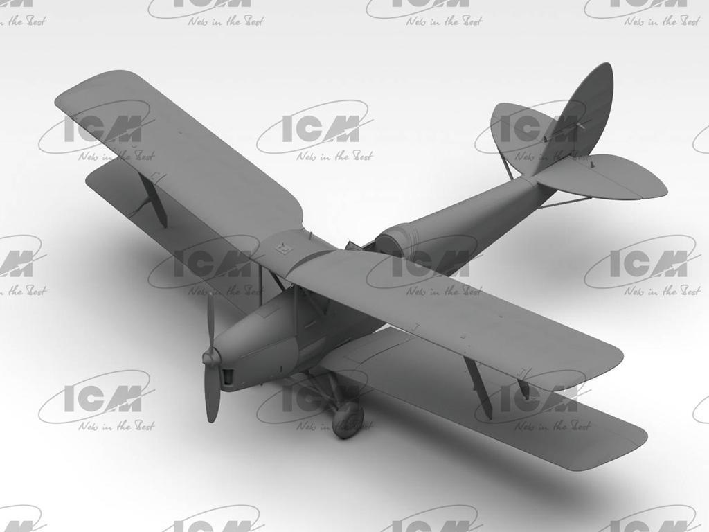 D.H. 82A Tiger Moth, British Training Aircraft (Vista 4)