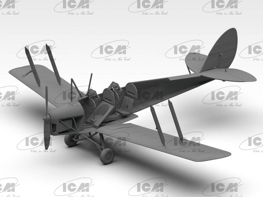 D.H. 82A Tiger Moth, British Training Aircraft (Vista 5)