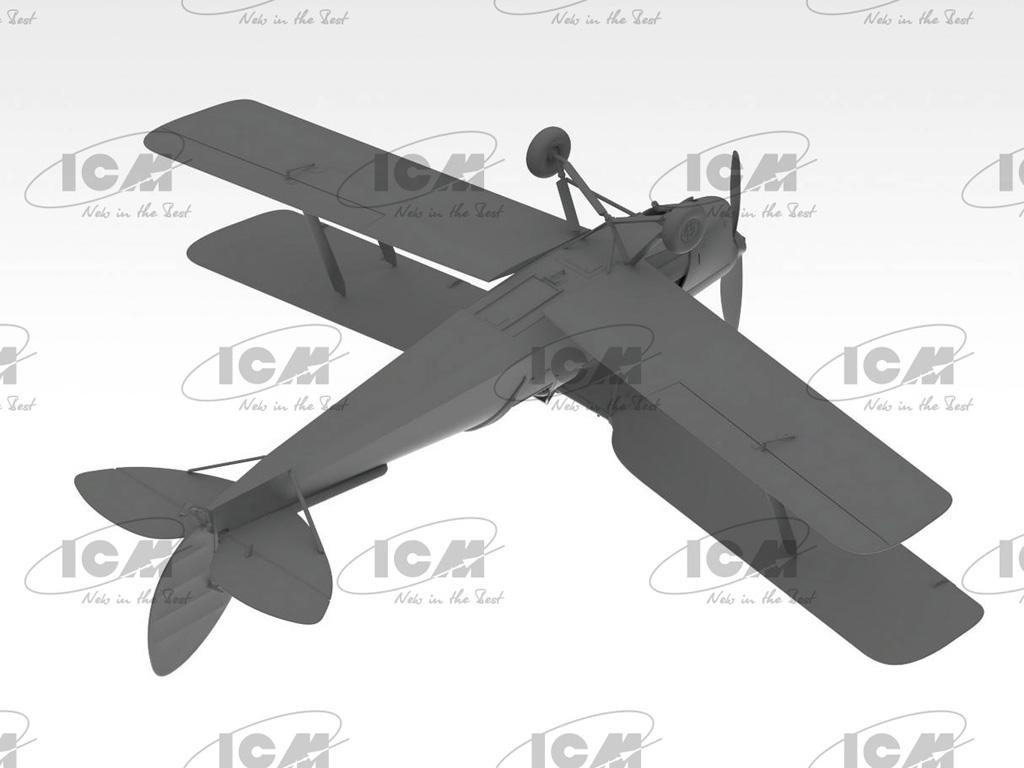 D.H. 82A Tiger Moth, British Training Aircraft (Vista 6)