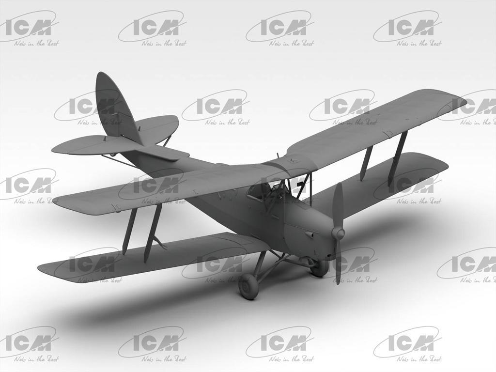 DH. 82A Tiger Moth con cadetes de la RAF (Vista 3)