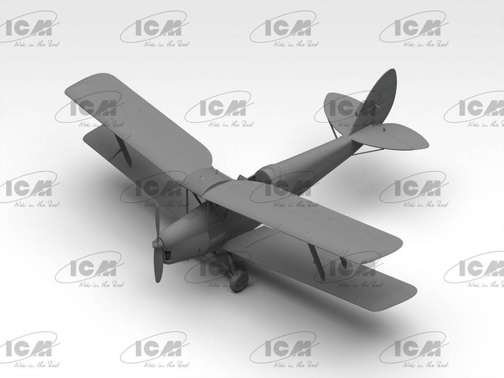 DH. 82A Tiger Moth con cadetes de la RAF (Vista 4)