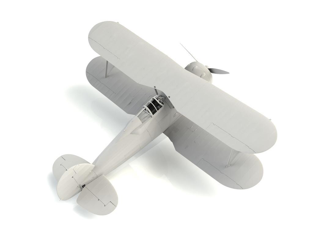 Gloster Gladiator Mk.II, WWII British Fighter (Vista 4)