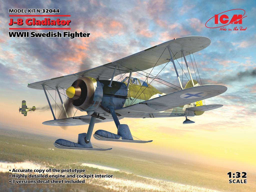 J-8 Gladiator,  Swedish Fighter (Vista 1)