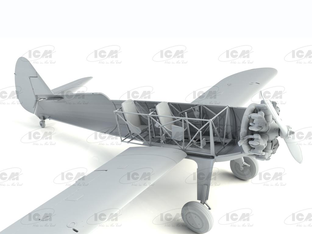 Stearman PT-13/N2S-2/5 Kaydet, American Training Aircraft (Vista 10)
