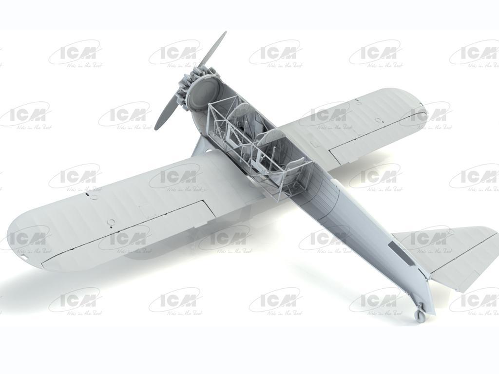 Stearman PT-13/N2S-2/5 Kaydet, American Training Aircraft (Vista 2)