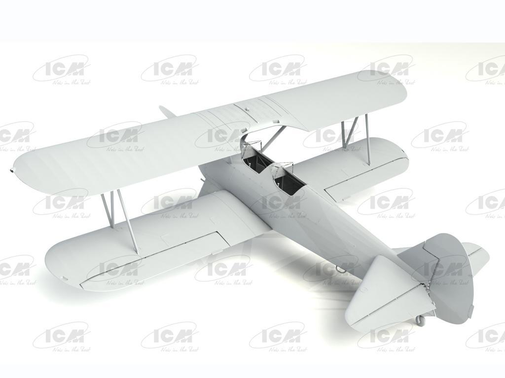 Stearman PT-13/N2S-2/5 Kaydet, American Training Aircraft (Vista 4)