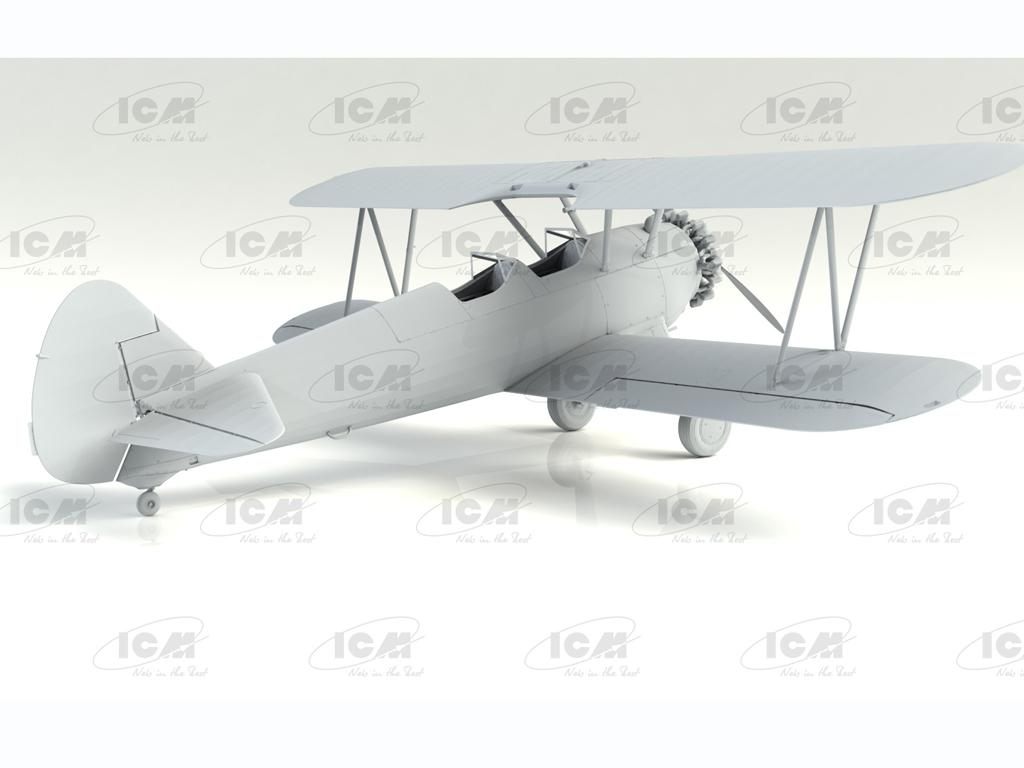 Stearman PT-13/N2S-2/5 Kaydet, American Training Aircraft (Vista 6)