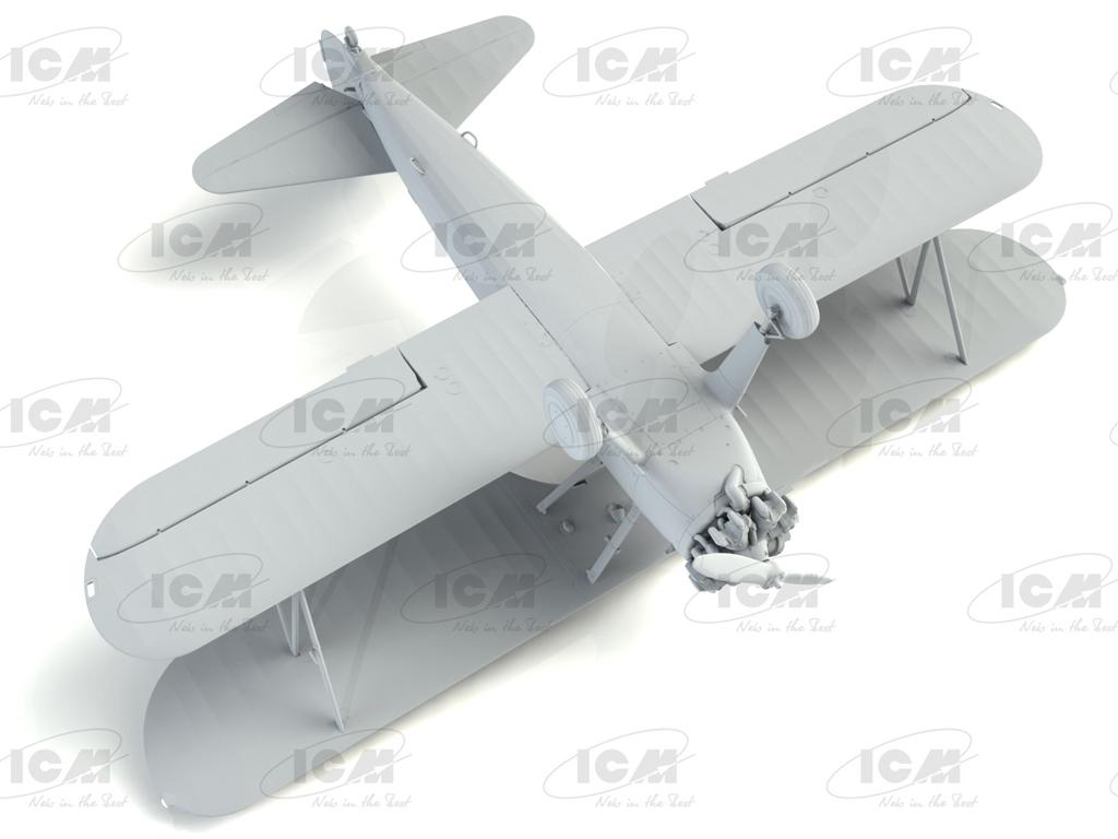 Stearman PT-13/N2S-2/5 Kaydet, American Training Aircraft (Vista 8)
