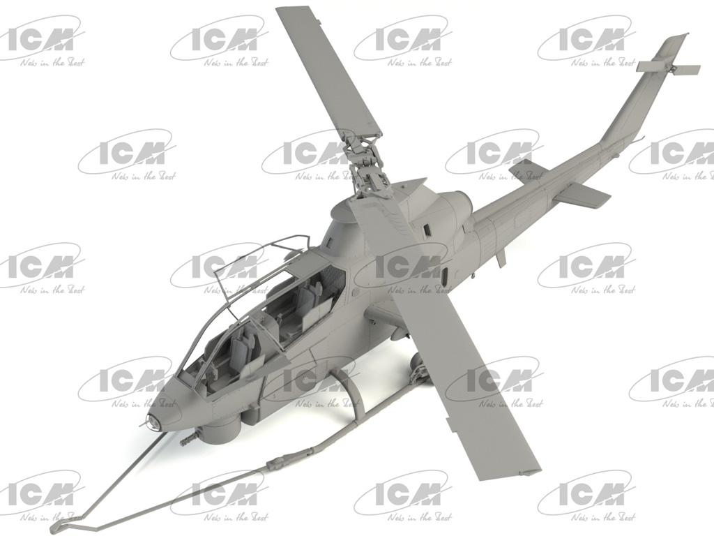 AH-1G Cobra (early production), US Attack Helicopter  (Vista 5)