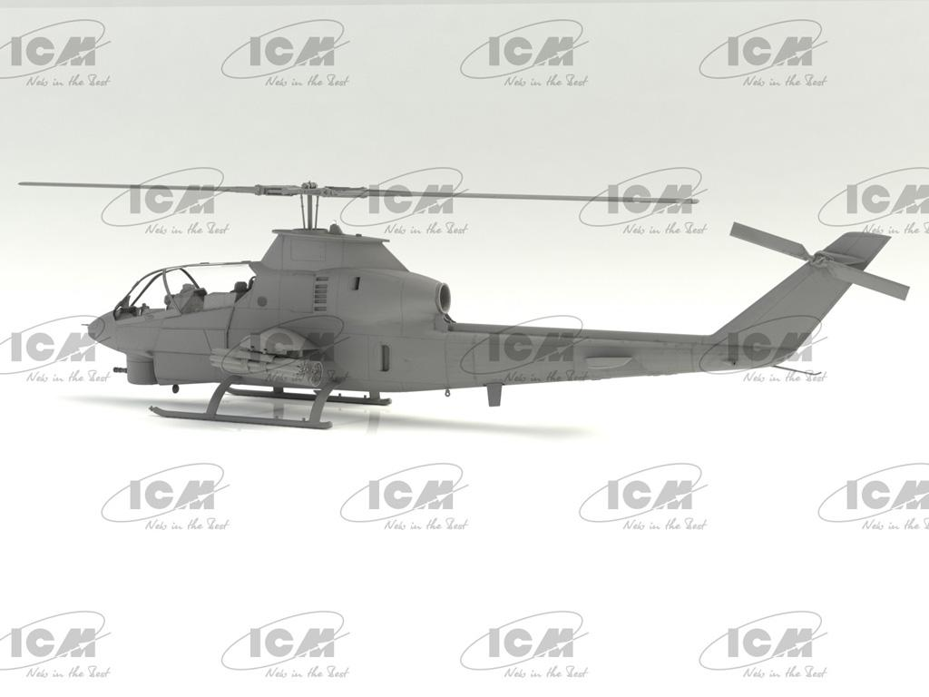 AH-1G Cobra (early production), US Attack Helicopter  (Vista 6)