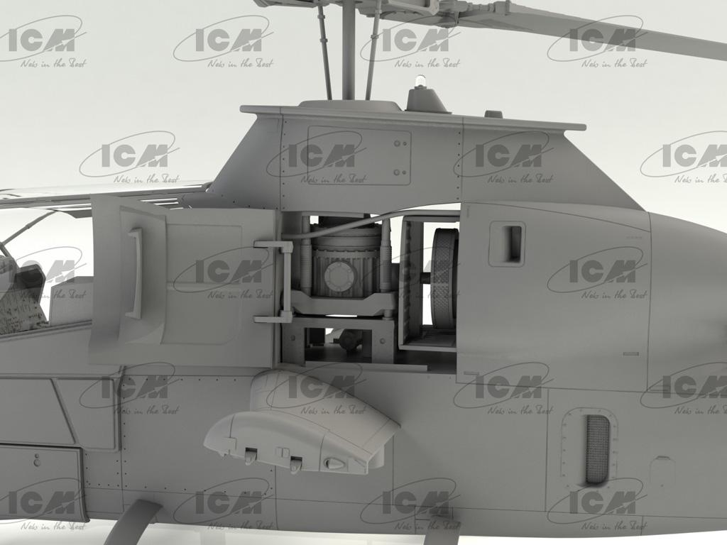 AH-1G Cobra (early production), US Attack Helicopter  (Vista 8)