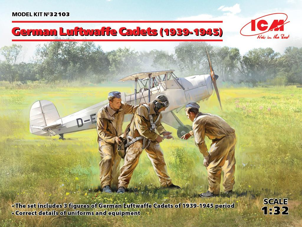 Cadetes de la Luftwaffe Alemana 1939-1945 (Vista 1)