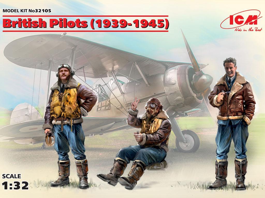 Pilotos Britanicos 1939-1945 (Vista 1)