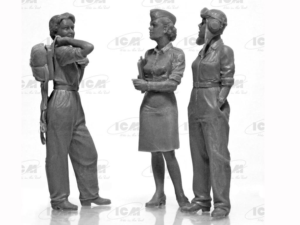 US WASP 1943-1945 (Vista 3)
