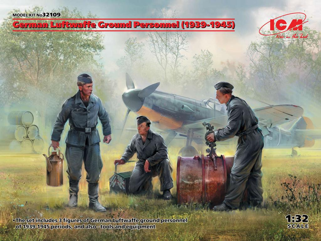 German Luftwaffe Ground Personnel 1939-1945 (Vista 1)