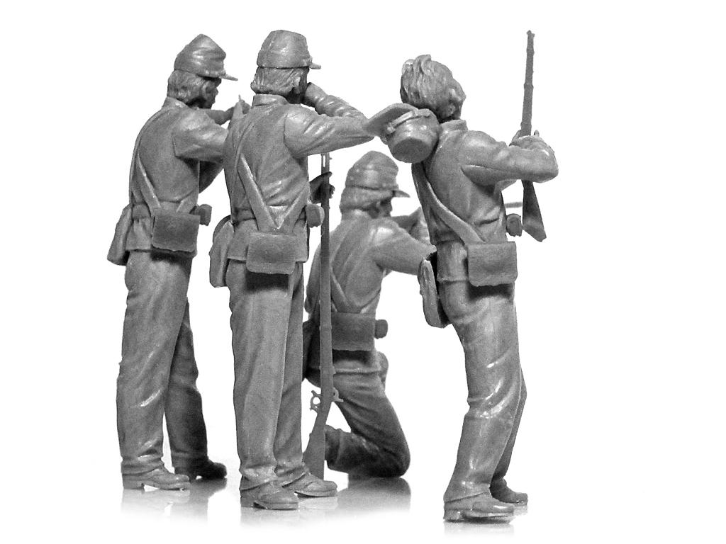 Infanteria de la Union Guerra Civil Americana (Vista 2)