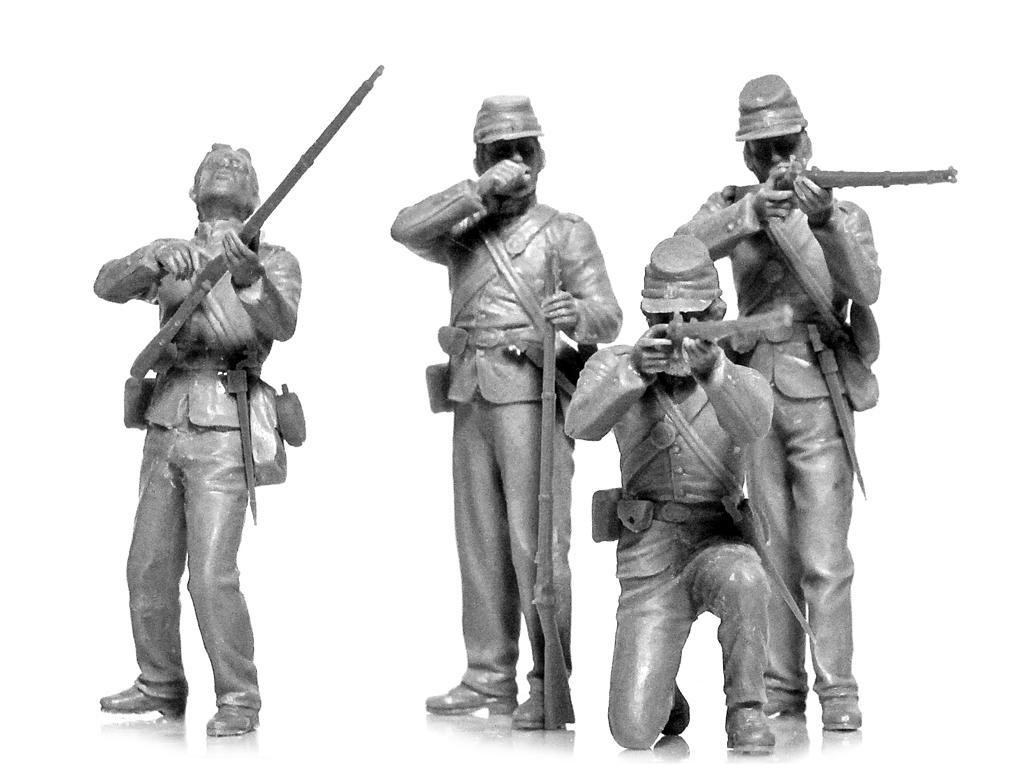 Infanteria de la Union Guerra Civil Americana (Vista 3)