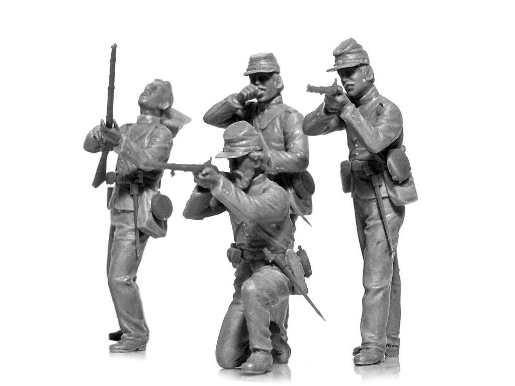 Infanteria de la Union Guerra Civil Americana (Vista 4)