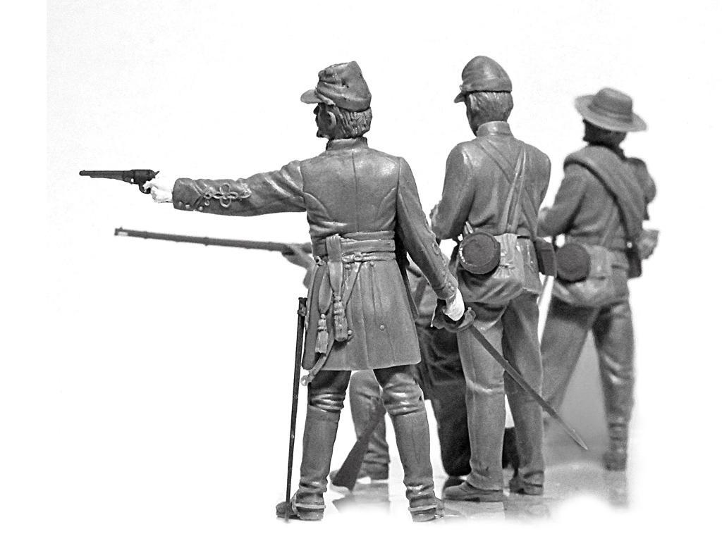 Infanteria Confederada Guerra Civil Americana (Vista 2)