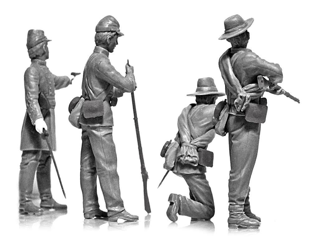 Infanteria Confederada Guerra Civil Americana (Vista 7)