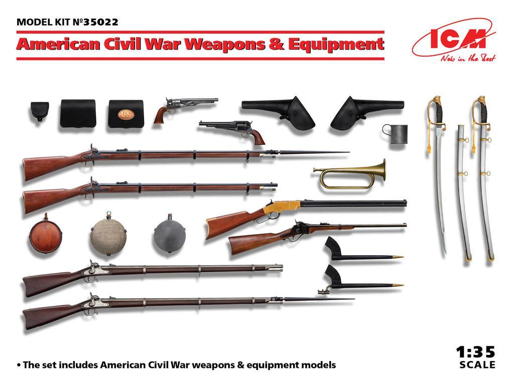 Armas y equipos de la Guerra Civil Americana  (Vista 1)