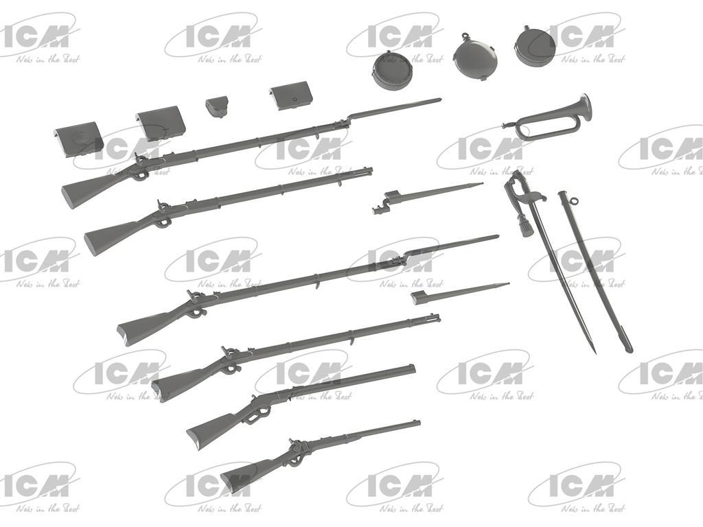 Armas y equipos de la Guerra Civil Americana  (Vista 2)