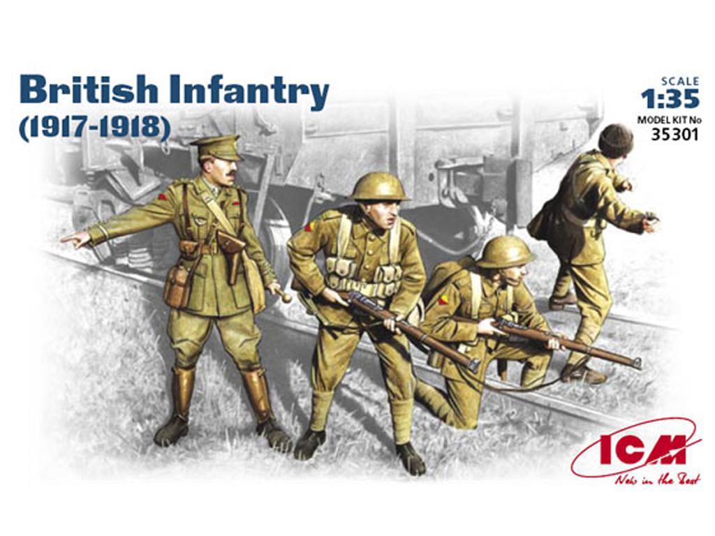 Infanteria Britanica 1917-18   (Vista 1)