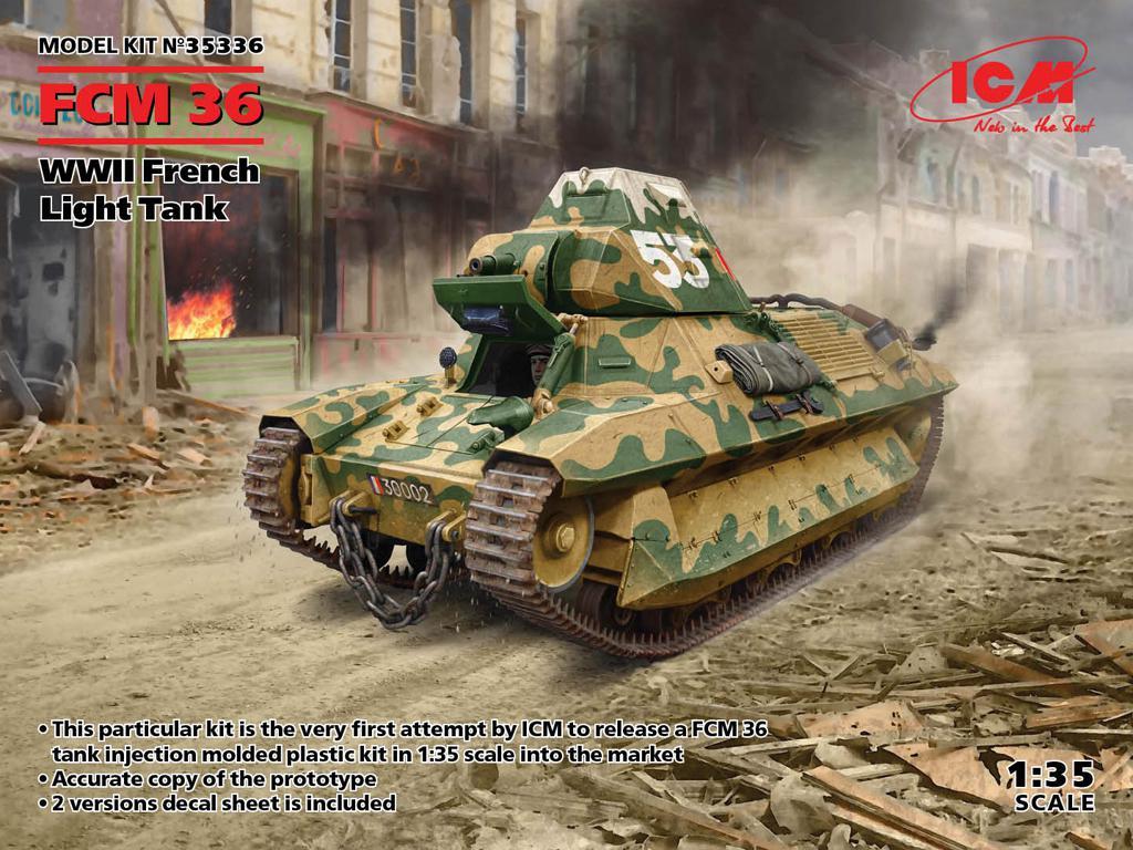 FCM 36 French Light Tank (Vista 1)