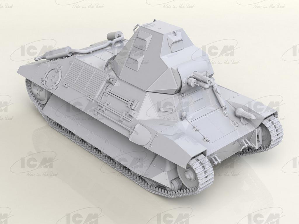 FCM 36 French Light Tank (Vista 2)