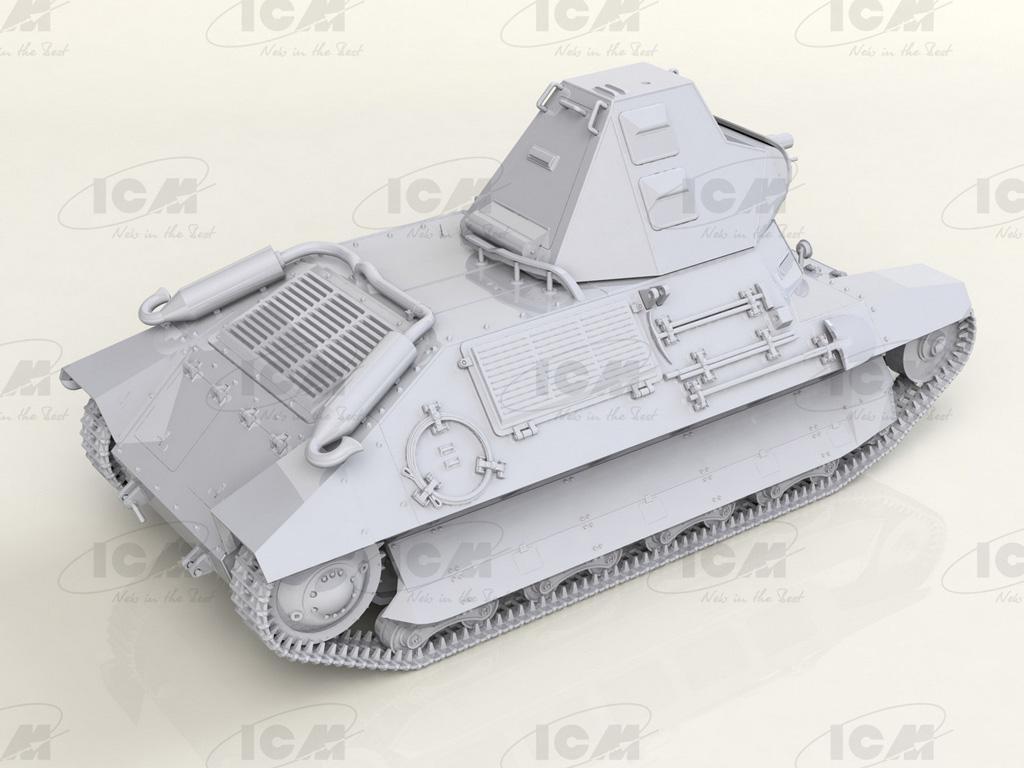 FCM 36 French Light Tank (Vista 3)