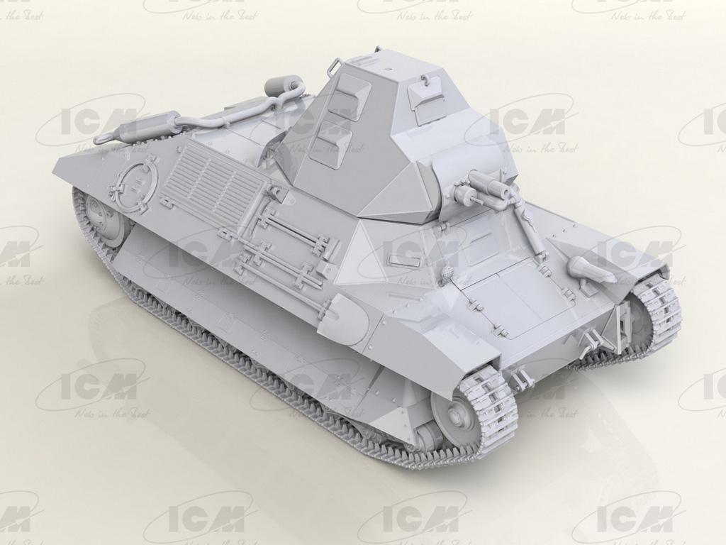 FCM 36 con la tripulación de un tanque Francés (Vista 10)