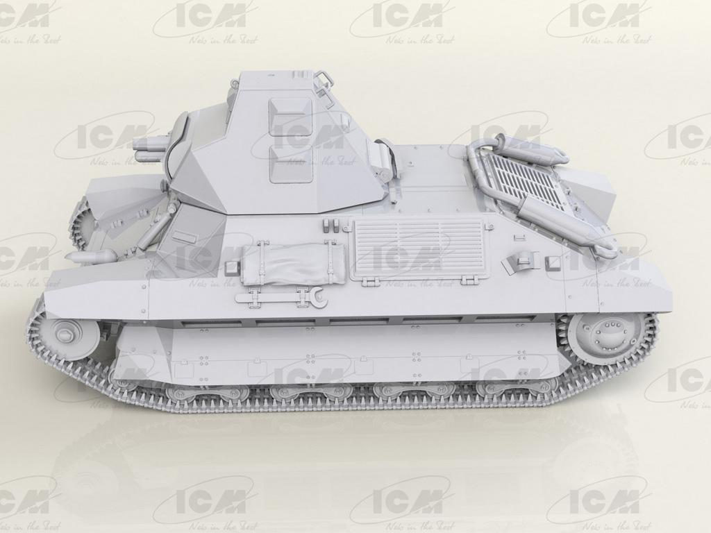 FCM 36 con la tripulación de un tanque Francés (Vista 11)