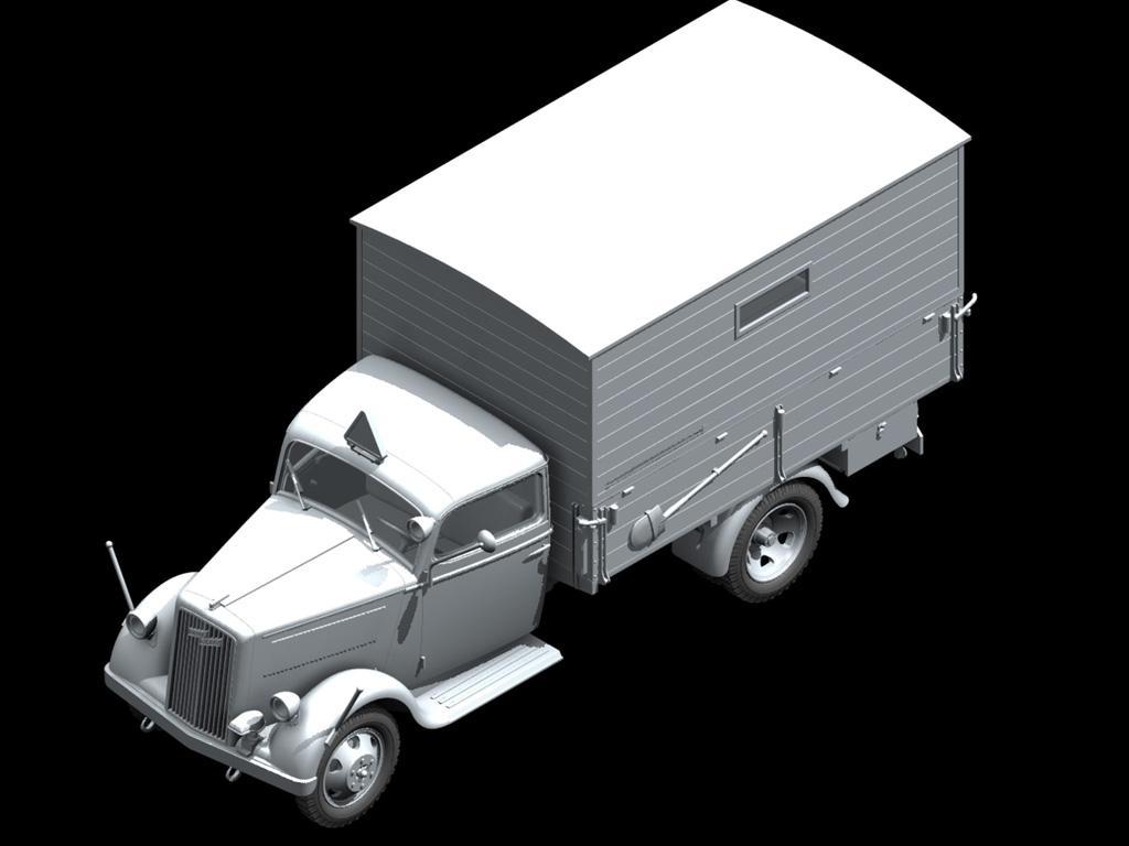 Opel Blitz Typ 2 Ambulancia (Vista 3)