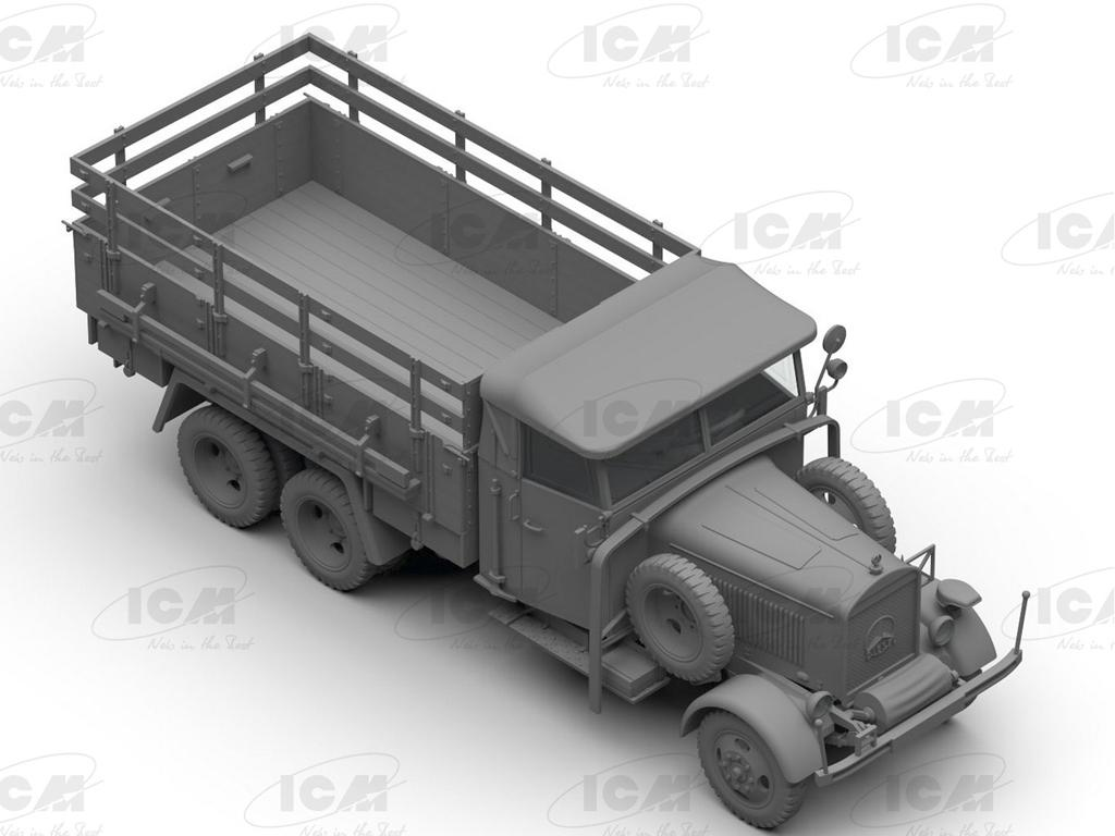 Typ LG3000, WWII German Army Truck (Vista 2)