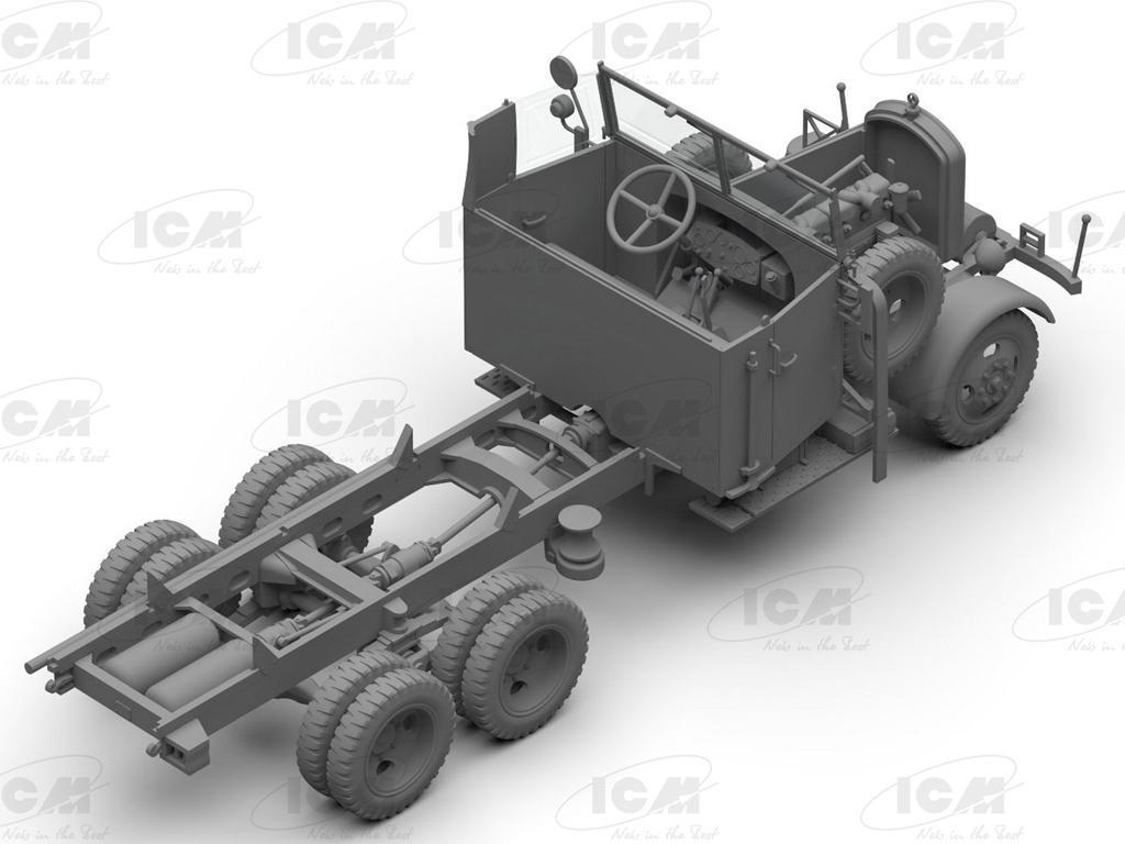 Typ LG3000, WWII German Army Truck (Vista 4)