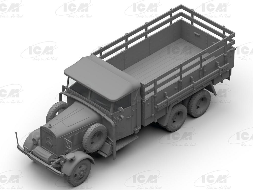 Typ LG3000, WWII German Army Truck (Vista 5)