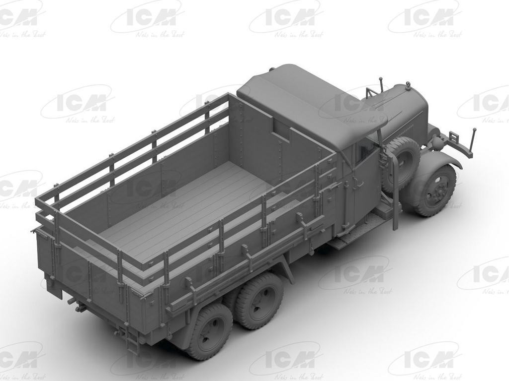 Typ LG3000, WWII German Army Truck (Vista 6)