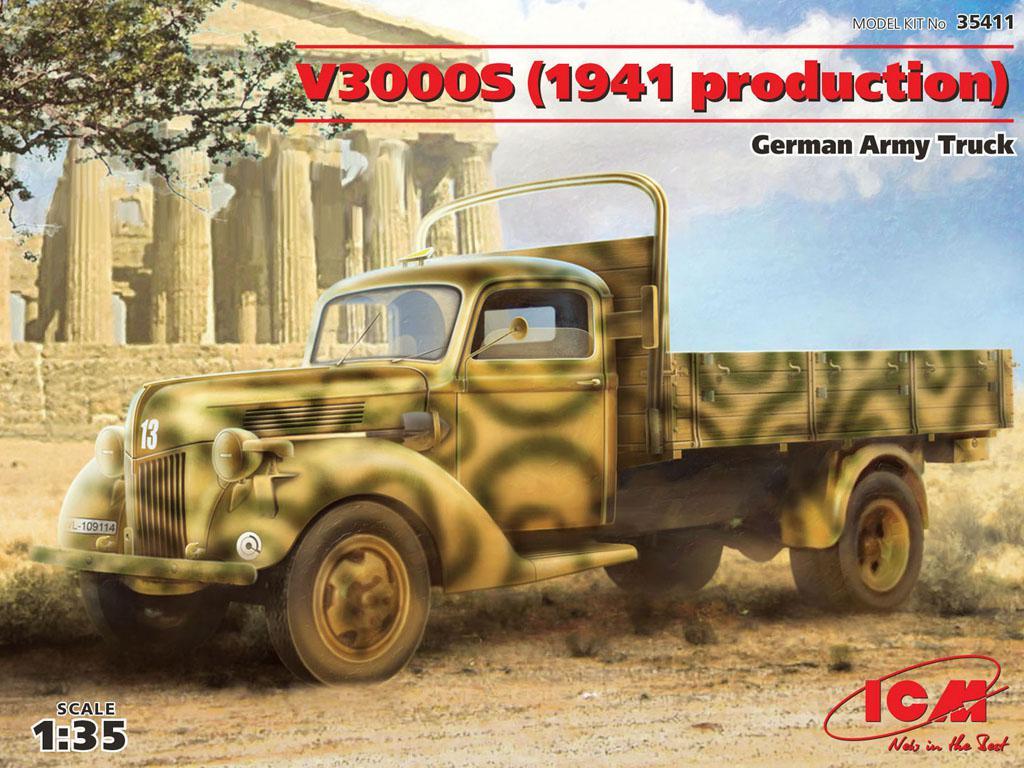 Camión alemán V3000S 1941  (Vista 1)
