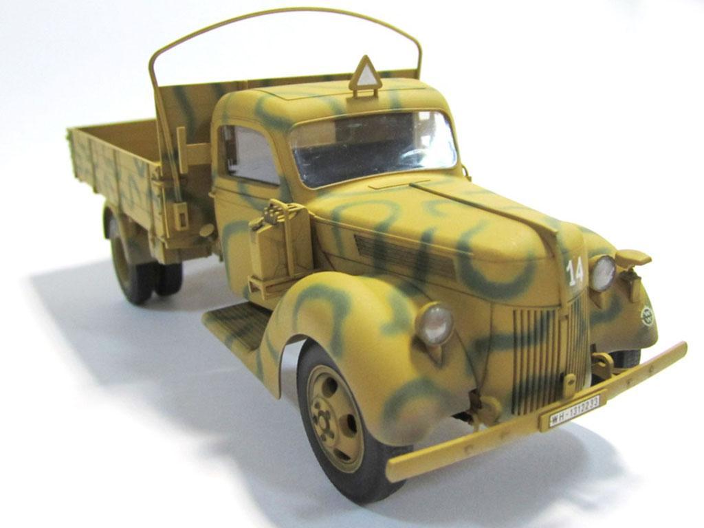 Camión alemán V3000S 1941  (Vista 4)