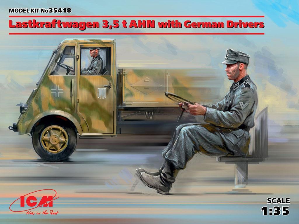Lastkraftwagen 3,5 t AHN con conductores (Vista 1)