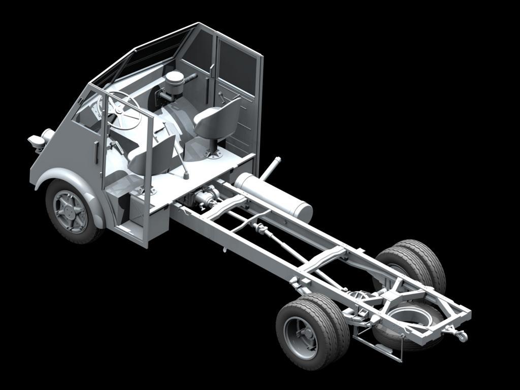 Lastkraftwagen 3,5 t AHN con conductores (Vista 2)