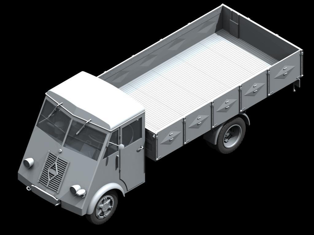 Lastkraftwagen 3,5 t AHN con conductores (Vista 3)